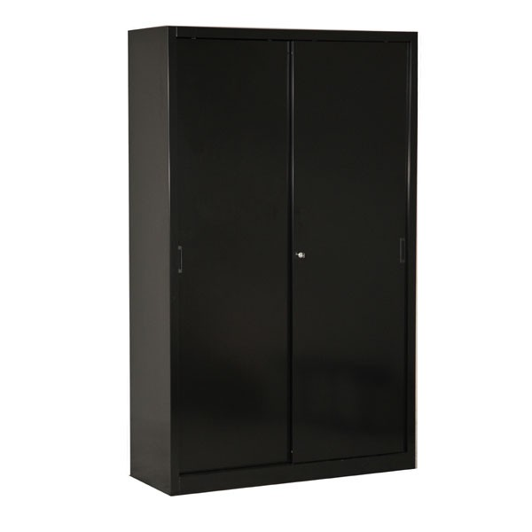 armoire de bureau a porte coulissante. Black Bedroom Furniture Sets. Home Design Ideas