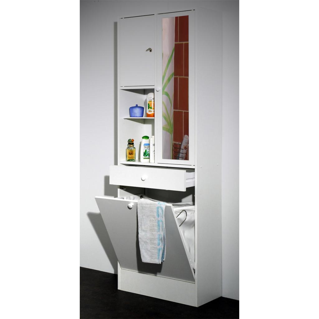 armoire salle de bain avec bac a linge integre. Black Bedroom Furniture Sets. Home Design Ideas