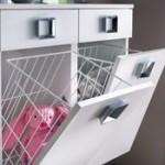 armoire salle de bain avec bac a linge integre