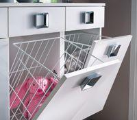 Exemple armoire salle de bain avec bac a linge integre - Meuble salle de bain avec bac a linge ...