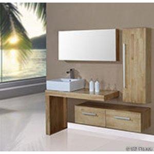 armoire salle de bain bois. Black Bedroom Furniture Sets. Home Design Ideas