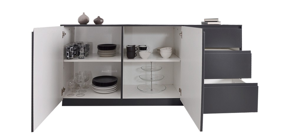 Buffet bas salon buffet reedition vintage maison du monde for Reedition meuble design