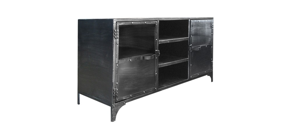 photo buffet bas metal. Black Bedroom Furniture Sets. Home Design Ideas