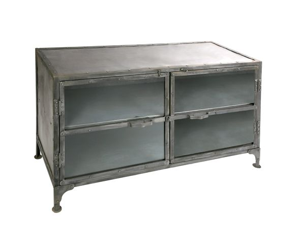 Buffet bas metal industriel - Buffet bas industriel ...