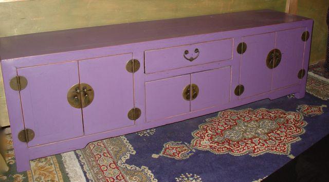 buffet bas violet -> Buffet Violet
