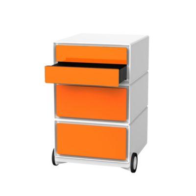 Caisson bureau orange for Caisson mural bureau