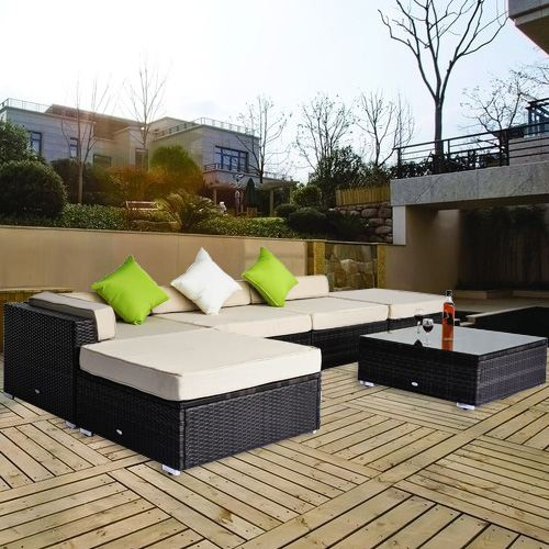 canape d 39 angle de jardin. Black Bedroom Furniture Sets. Home Design Ideas