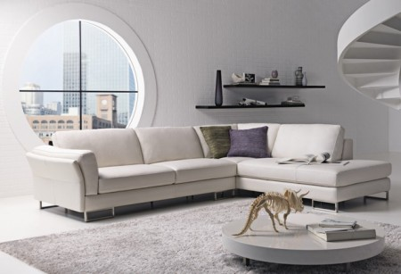 canape d 39 angle natuzzi. Black Bedroom Furniture Sets. Home Design Ideas