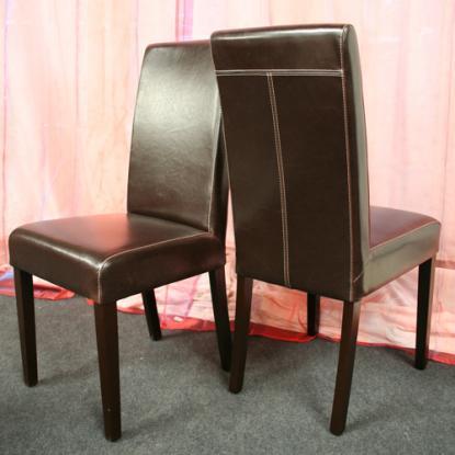 Chaise de cuisine en cuir for Chaise cuisine en cuir