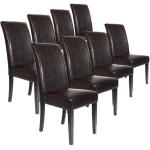 chaise de cuisine en cuir a vendre. Black Bedroom Furniture Sets. Home Design Ideas