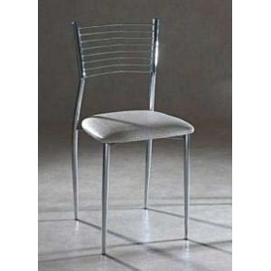 Chaise de cuisine inox for Mobilier cuisine inox