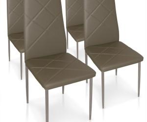 chaise de cuisine taupe
