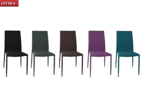 Mod le chaises de salle a manger tissu for Modele chaise salle a manger