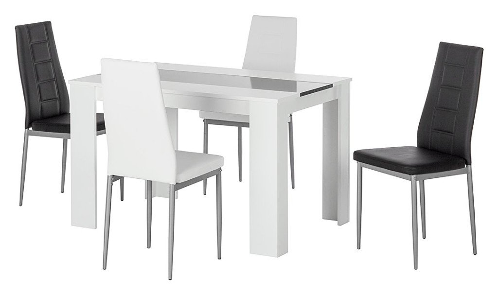 Table a manger gifi for Table chaise salle a manger