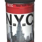 corbeille a papier new york