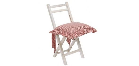 Galette de chaise avec un noeud - Galette de chaise avec scratch ...