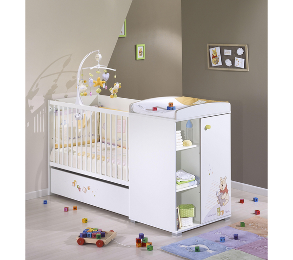 Lit bebe leclerc - Lit de bebe avec table a langer integree ...