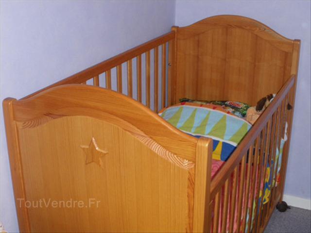 lit bebe natalys. Black Bedroom Furniture Sets. Home Design Ideas