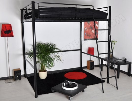 hauteur lit mezzanine 2 places my blog. Black Bedroom Furniture Sets. Home Design Ideas