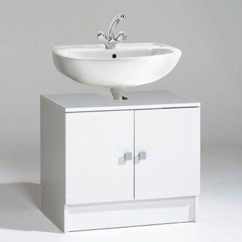 Meuble bas de salle de bain 2 portes grimsby for Meuble bas salle de bain 2 portes