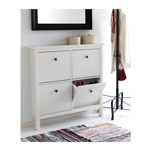 meuble chaussures ikea hemnes. Black Bedroom Furniture Sets. Home Design Ideas