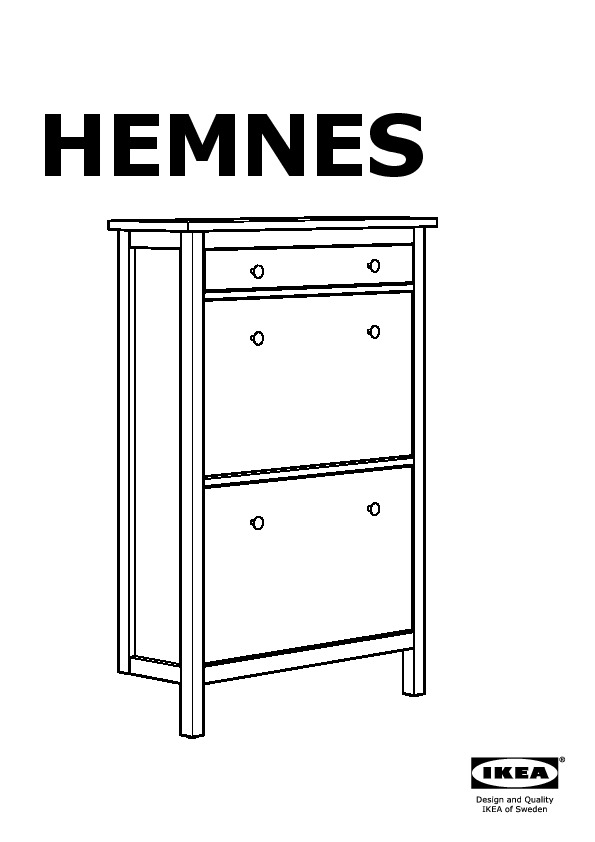 photo meuble chaussures ikea hemnes. Black Bedroom Furniture Sets. Home Design Ideas