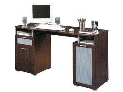 Meuble de bureau wenge for Meuble bureau wenge