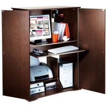 Meuble informatique armoire table de lit for Bureau meuble camif