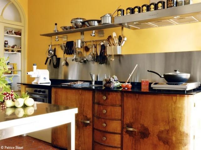 mur cuisine meuble beige  Meuble cuisine beige couleur mur Cuisine