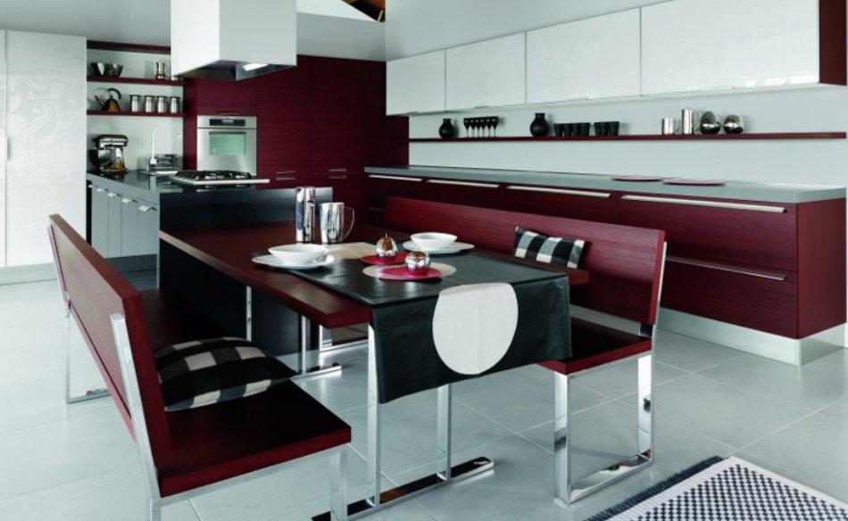 Design table de cuisine avec fauteuil encastrable 18 - Table cuisine encastrable ...