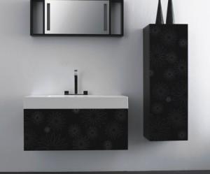 meuble haut suspendu salle de bain