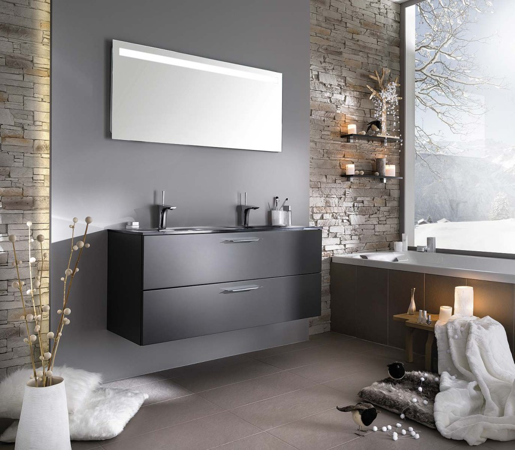 meuble salle de bain hornbach. Black Bedroom Furniture Sets. Home Design Ideas