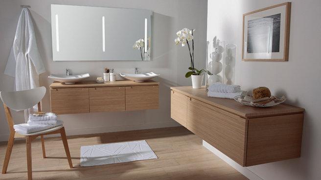 comparatif meuble salle de bain nature