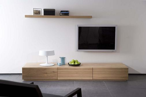 meuble tv bas long bois en ligne. Black Bedroom Furniture Sets. Home Design Ideas