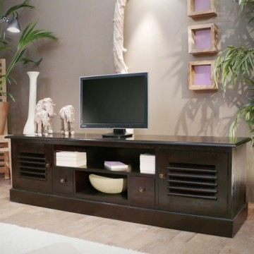 meuble tv bas wenge. Black Bedroom Furniture Sets. Home Design Ideas