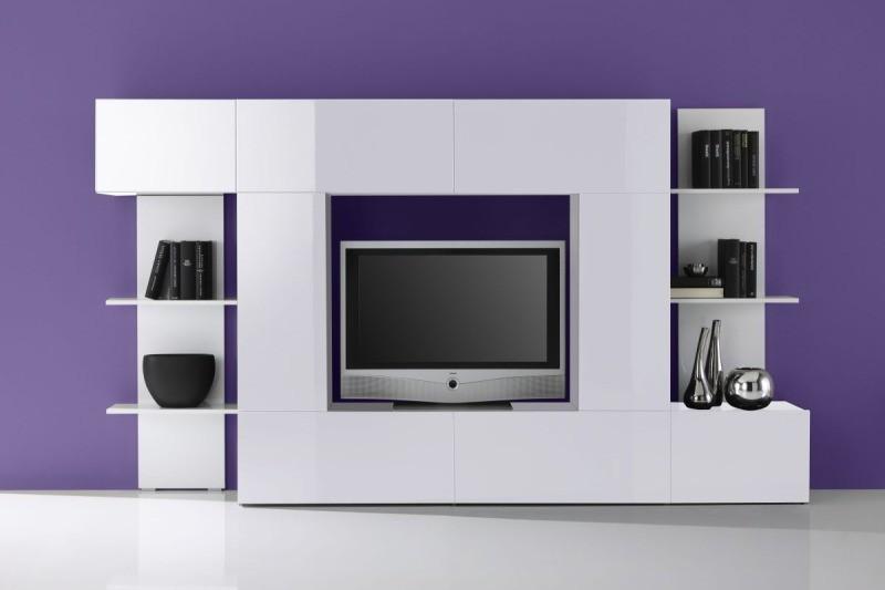 idée meuble tv haut design - Meuble Tv Encastrable Design
