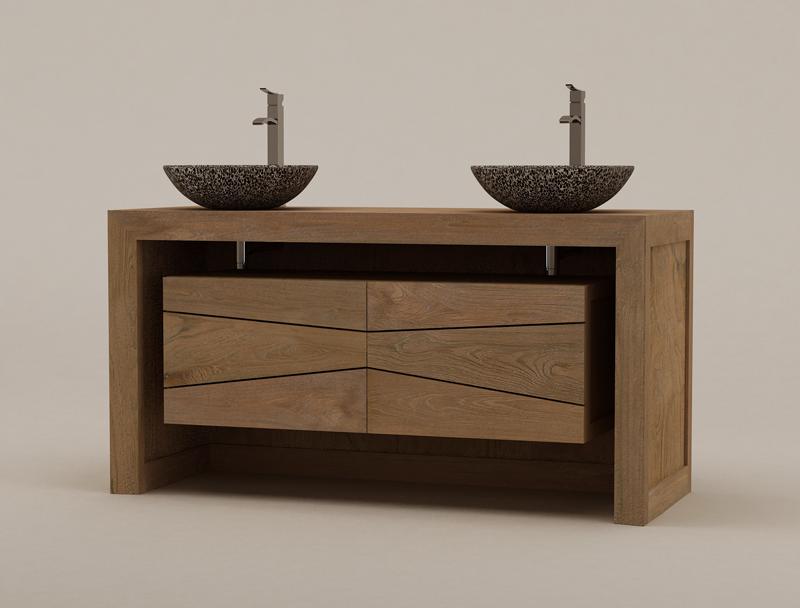 Meuble coin salle de bain maison design for Meuble de salle de bain en coin
