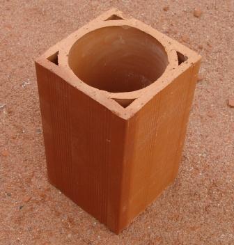 Casier bouteille en terre cuite - Range bouteille en brique ...