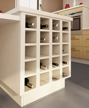 organisation range bouteilles pour cuisine. Black Bedroom Furniture Sets. Home Design Ideas