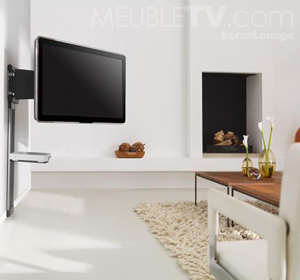 photo support mural tv en bois. Black Bedroom Furniture Sets. Home Design Ideas