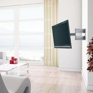 exemple support mural tv inclinable et orientable. Black Bedroom Furniture Sets. Home Design Ideas
