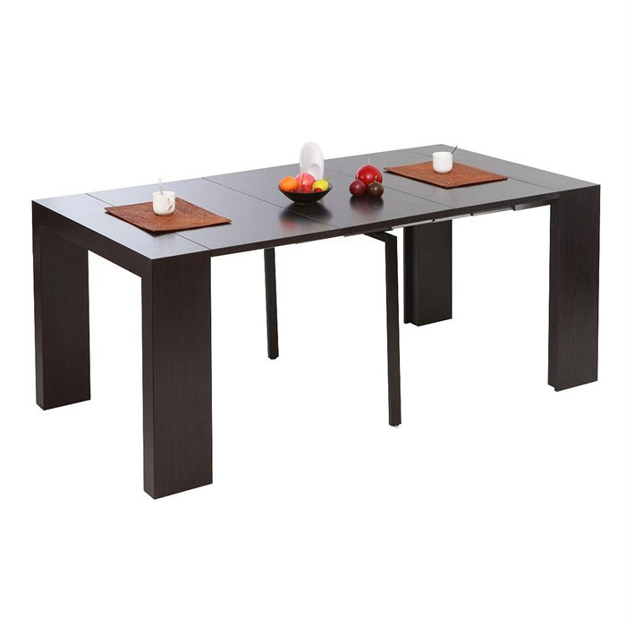 Table a manger console extensible for Table salle a manger console extensible