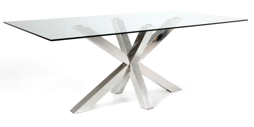 Table a manger en verre design pas cher for Table a manger design pas cher