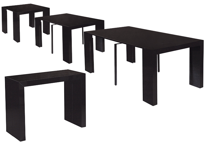 table a manger gain de place. Black Bedroom Furniture Sets. Home Design Ideas