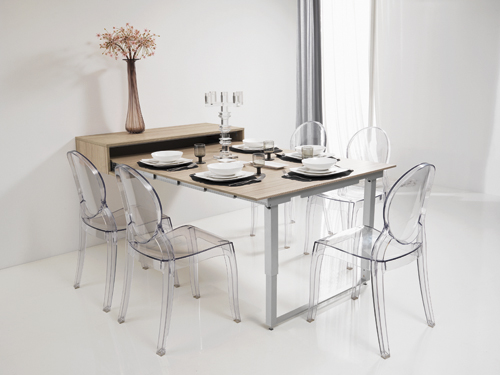 Trouver table a manger gain de place for Table salle a manger gain de place