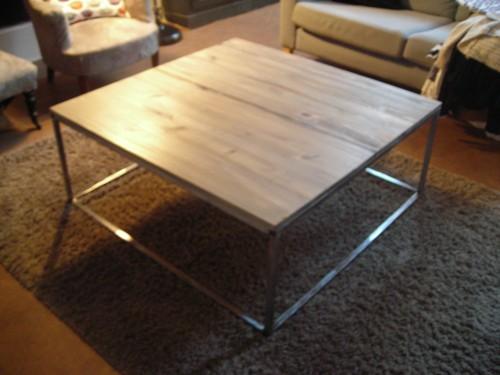 Table basse fabrication maison sammlung von for Table basse fabrication maison