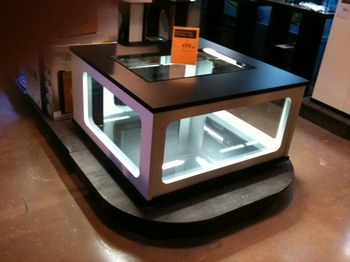 Table basse fait maison - Aquarium table basse de salon ...