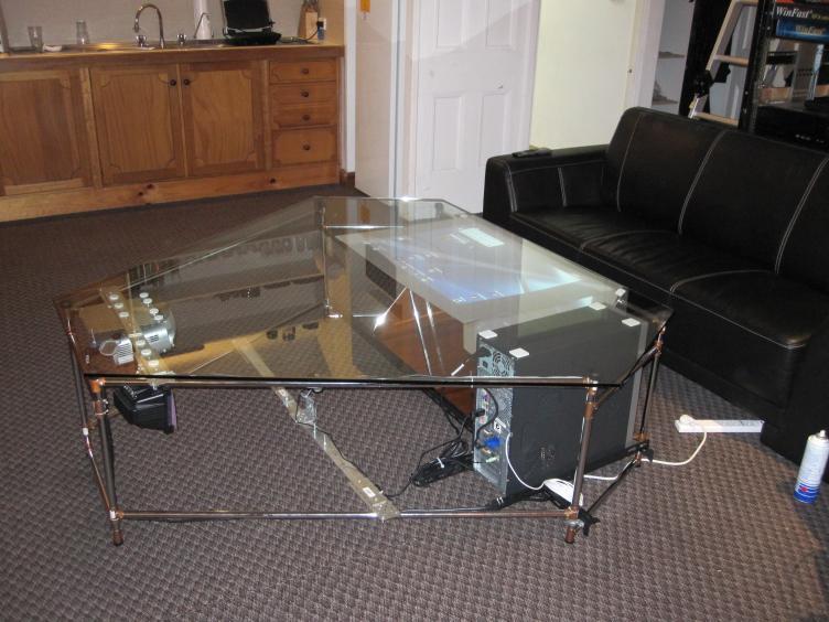 Table basse fait maison - Table de chevet fait maison ...