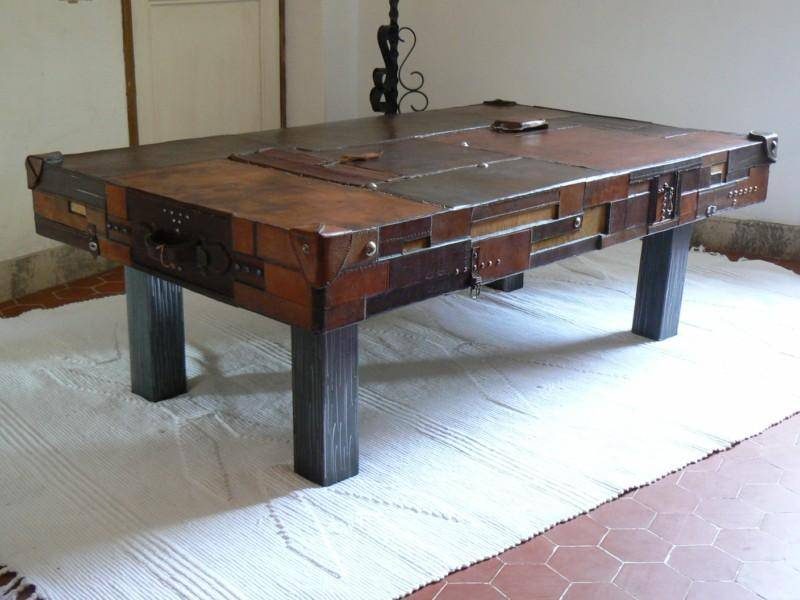 Table basse originale fait maison - Table basse delamaison ...