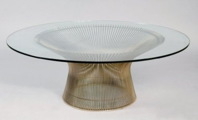 photo table basse knoll. Black Bedroom Furniture Sets. Home Design Ideas